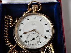 ROLEX. large swiss gents very heavy pocket watch date made 1920 V. [REF NO 205}