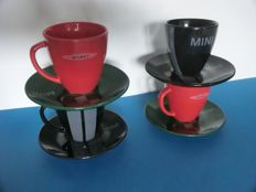 Mini Cooper works - Limited edition of 4 coffee cup