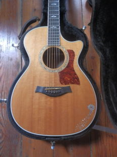 Taylor 612c Acoustic Guitar - Made El Cajoun, California.