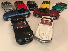 Revell / Bburago - Scale 1/18 - Lot with 9 models: 9 x BMW