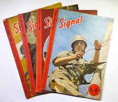 Signal - Complete year 4 volumes - 1945