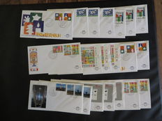 The Netherlands – Batch of 1446 FDCs in box