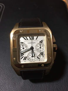 Cartier Santos 100 XL - Ref.: 2741 - Men's wristwatch - 2009