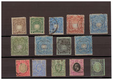 East Africa and Uganda - Lot of new and used stamps.