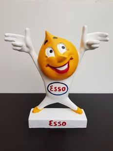Huge statue of an Esso man - second half of the 20th century