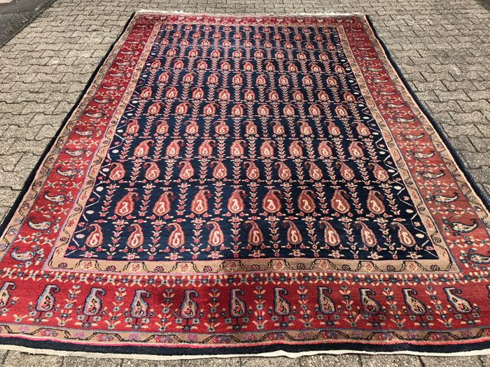 Large Hamadan! Very valuable! Investment! Oriental carpet, hand-knotted