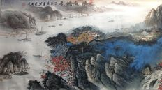 Painting – Combination of painting and printing techniques – China – 21st century