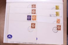 Israel, 1950-1980, batch of FDCs, covers and maximum cards in three stockbooks