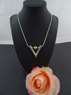 Silver 925 kt necklace 47 cm