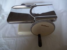 Very old Alexander work meat slicer - Type 1061C - 43 -Around 1930 - Germany