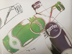 Andy Warhol (after) - Perrier - 1983