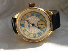 34. IWC Schaffhausen marriage men's wristwatch 1899-1900