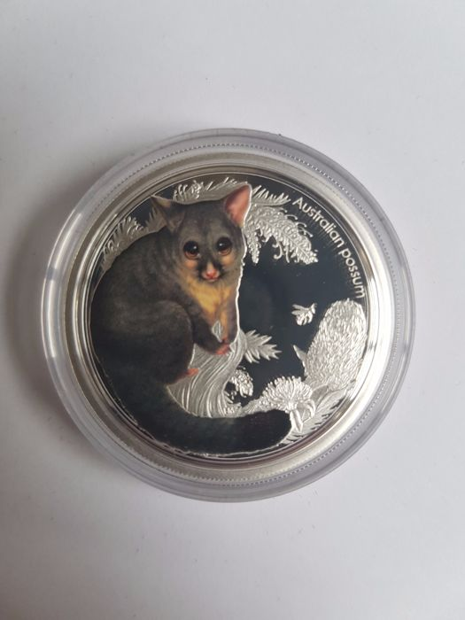 Australia - 50 Cents 2013 Possum - Bush Babies - ½ oz - Plata