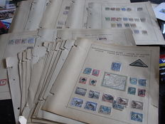 British Commonwealth in Africa 1850/1930 – Large collection with the better stamps on old album pages