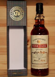 Cadenhead's Glendullan 1996 Wine Cask / Chateau Lafitte finish, aged 20 years / Wine Cask, 52,4%vol 700ml/70cl