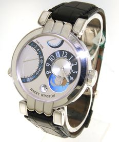 Harry Winston - Premier Excenter Time Zone - wristwatch - (our internal #7757)