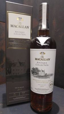 Macallan Boutique Collection 2016 Limited Edition - 1st Release for 1st ever Macallan Boutique