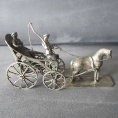 Silver plated miniature