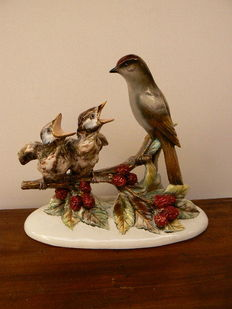 Guido Cacciapuoti - Nice sculpture of a group of birds
