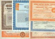 Cuba Railroad Collection - first half of the 20th century