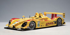 "AUTOart - Scale 1/18 - Porsche RS Spyder #6 ""DHL"" - Colour: Yellow"
