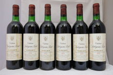 1979 Chateau Labegorce-Zede, Margaux - 6 bottles (75cl)