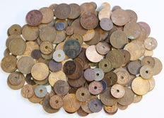 Dutch East Indies - batch with various coins, 1808-1945 (175 pieces