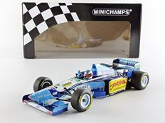 Minichamps - Scale 1/18 - Benetton Renault B195 M. Schumacher Winner French GP 1995
