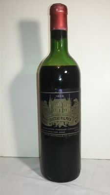 1959 Chateau Palmer, Margaux Grand Cru Classé - 1 bottle