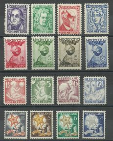The Netherlands 1928/1934 - Children's series selection