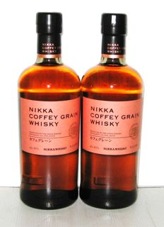 Nikka Coffey Grain - 70cl - 45% - Lot 2 Bottles