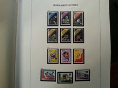 Netherlands Antilles 1990/2007 - Collection in DAVO album