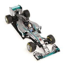 Minichamps - Schaal 1/18 - Mercedes AMG Petronas F1 Team W05 Hybrid L. Hamilton Winner Abu Dhabi GP 2014 World Champion