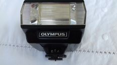 Olympus T20 electronic flash with case