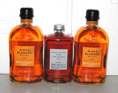 3 bottles - 2 x Nikka Blended, 1 x Nikka From the Barrel