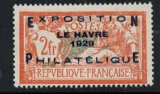 France 1929 - Exhibition of Le Havre - Yvert 257 A.