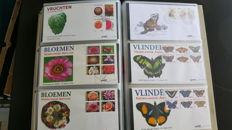 Netherlands Antilles 1957/2010 - Nearly complete collection of FDCs in 4 DAVO albums