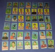 Precursor Panini - Sidam - footballers of the Italian championship 1959-1960 - 222 stickers without album.