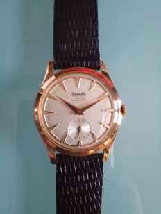DAMAS men's anti-magnetic wristwatch with 17 jewels, from the 1960s.