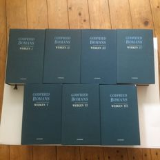 Godfried Bomans - Werken Novels, chronicles and diaries - 7 volumes - 1996/1999