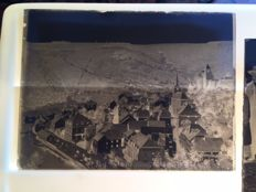 Glass negatives 17x - Luxembourg? - Clervaux? - Farmer