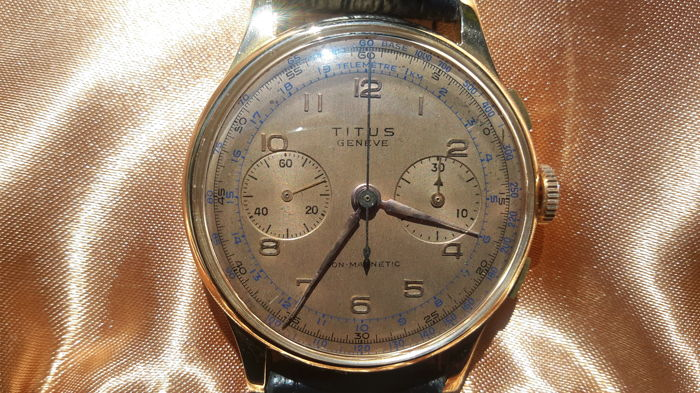 Tutus Geneve – Men's chronograph – 1960s – In good condition