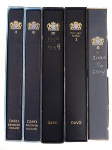 The Netherlands 1960/2001 - collection in five Davo albums.