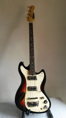 Meazzi Hollywood Tiger bass - Italy - 1960s
