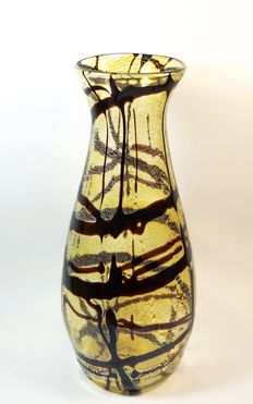 Matteo Rossi (Murano) - large stained vase