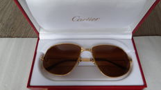 Cartier - Panther - Glasses - Men - 18k gold-plated - 63-16 / 140