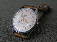 ORIS Pointner Date – beautiful Swiss men's wristwatch – from the 80s - GREAT CONDITION