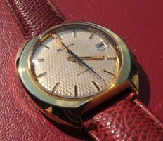 Bulova - Mens Automatic Watch - Textured Dial - 1970