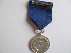 Wehrmacht Service Award for 4 years