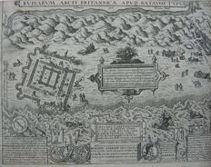 12 topographical prints - the Netherlands; various makers - Lot contains images of a.o. Amsterdam, Katwijk, Kockengen, Haarzuilens, Rozenburg and Vinkeveen - 17th/18th century.